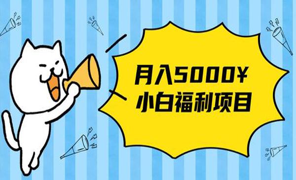 """020年小白福利网赚项目,长久稳定月入5000"""""""